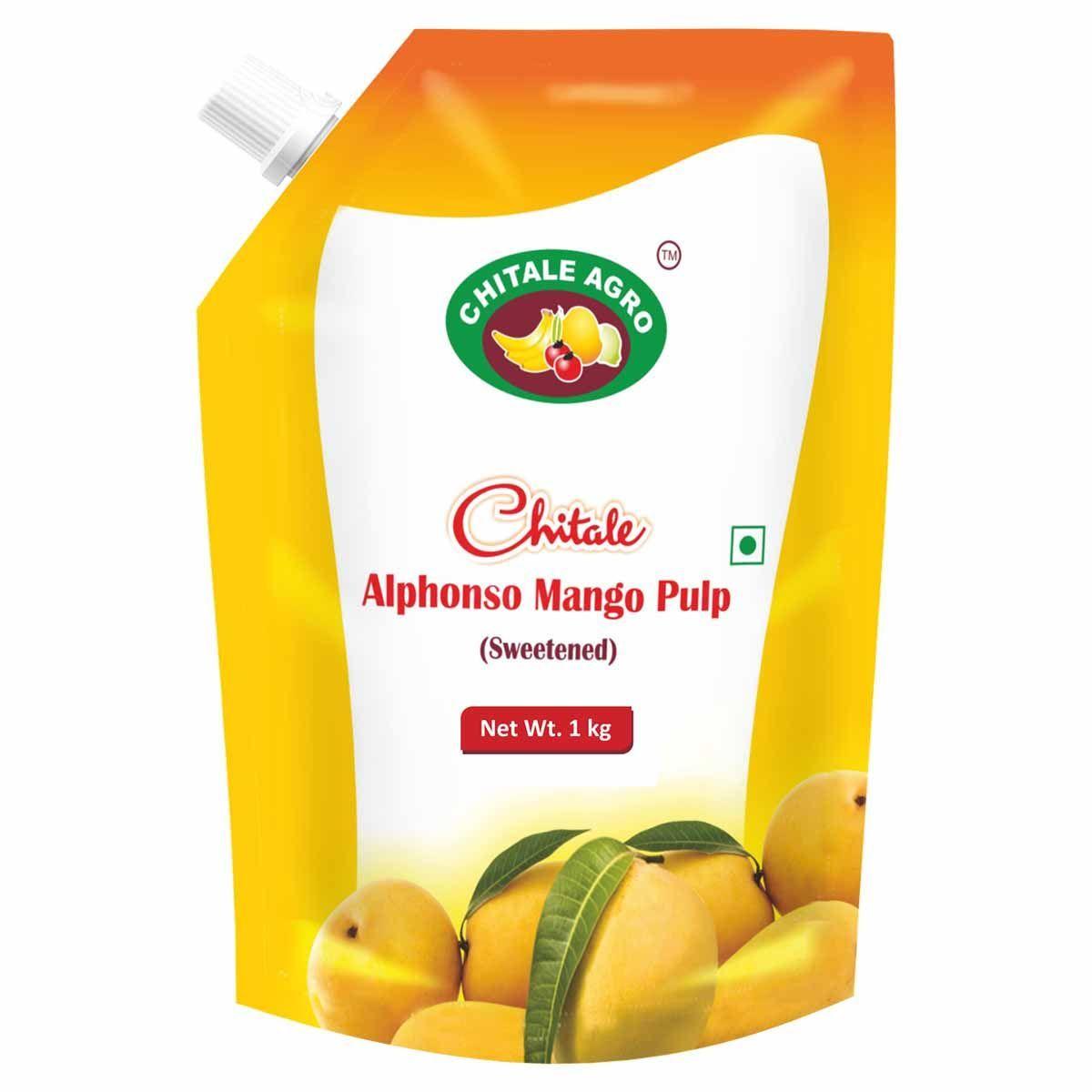 Alphnso Mango Pulp (Sweetened)